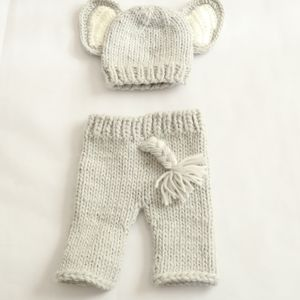 Crochet Newborn Baby Outfit